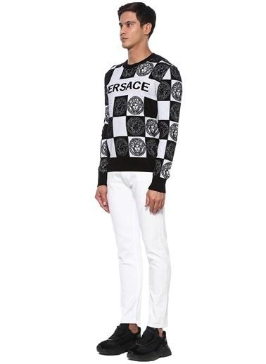 Versace Jeans Jean Pantolon Beyaz